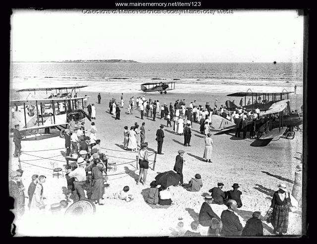 Maine Air Show, Old Orchard Beach, 1923