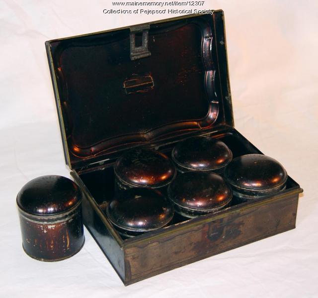 Spice tin, ca. 1895