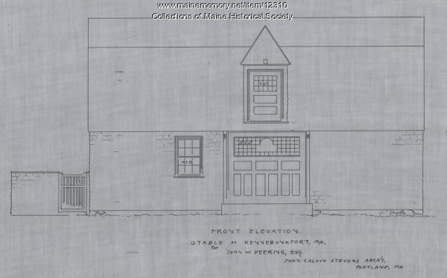 Capt. John W. Deering estate, Kennebunkport, 1890