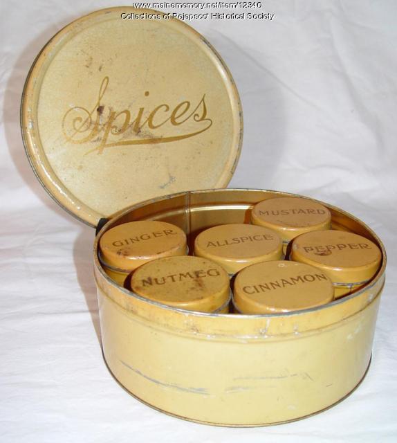 Spice tin, Brunswick, ca. 1950
