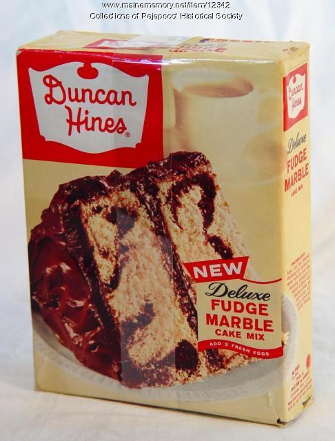 Cake Mix Box