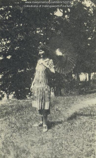Mary Lane McMillan, Rome, 1933