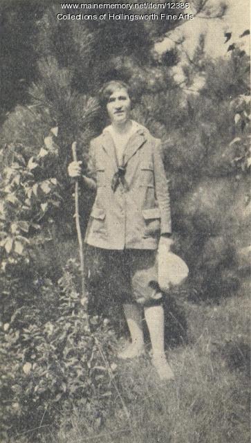 Hiker, McMillan School of Fine Arts Vacation School, Rome, 1933