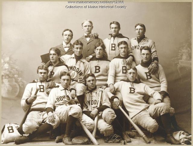 Bowdoin College baseball team, ca. 1896