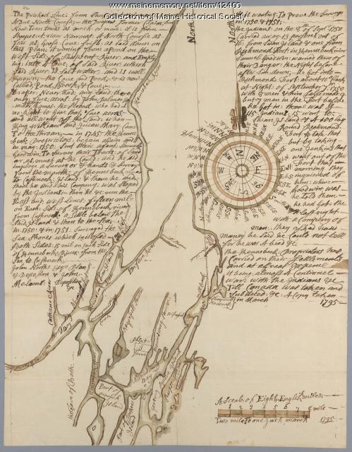 Draper's claim northeast of Bath, 1795