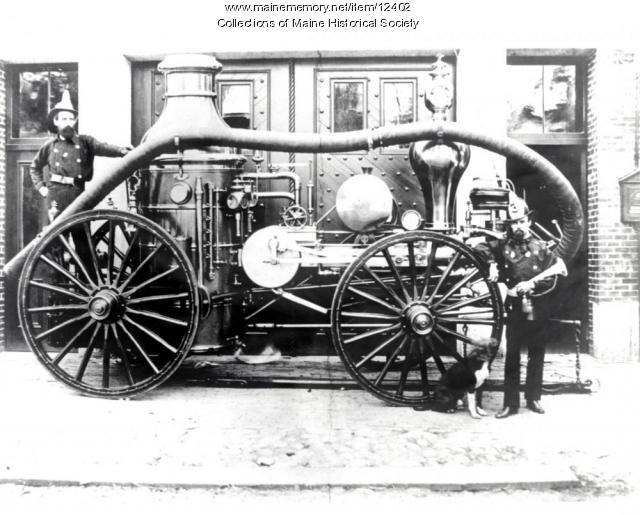 Cumberland No. 3 Steam Engine, Portland, 1870