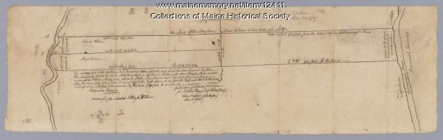 Samuel and Hugh Wilson survey, 1767