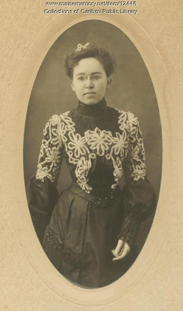 Grace Hall Stratton, Caribou, 1902
