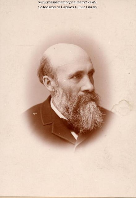 W.S. Knowlton, Caribou, 1889