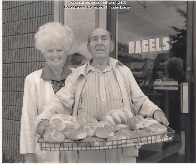 Reuben and Clara Cohen, ca. 1980
