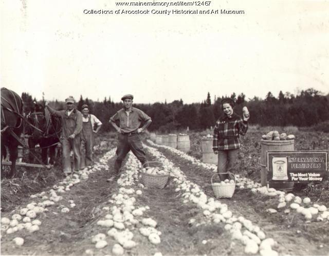 Arnold Curtis Farm, Sherman Mills, ca. 1930