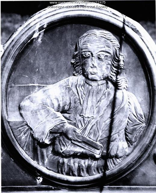 John Wheelwright headstone, Wells, 1745