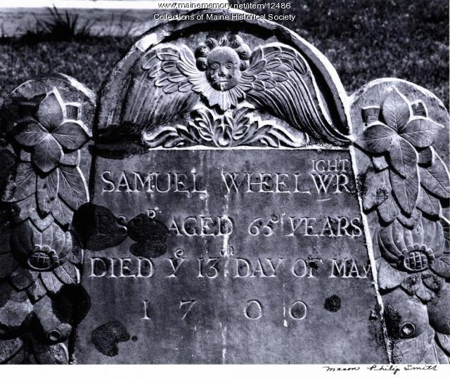 Samuel Wheelwright,  Wells, 1700