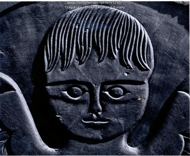 Headstone, Isabella Wildrage, Portland, 1789