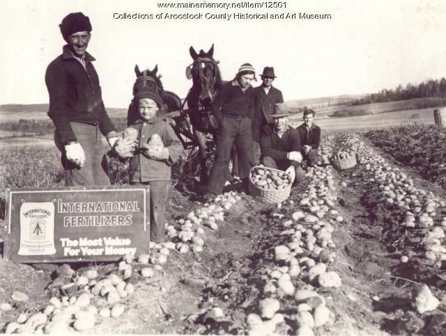 Alphonse Landry farm, New Canada, ca. 1930