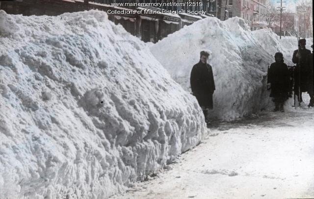 Snow in Portland, 1922