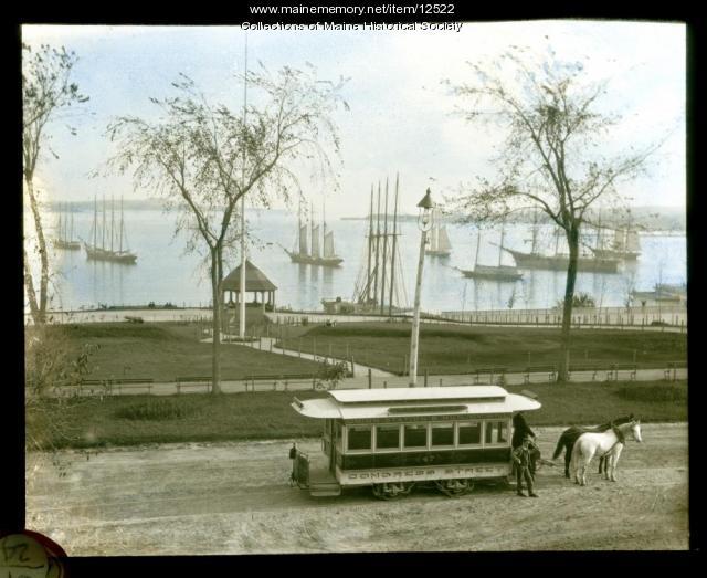 Fort Allen Park, Eastern Promenade, Portland, 1893