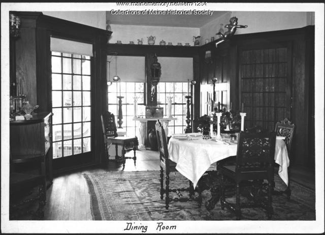 Ethelbert Nevin estate, Blue Hill, 1937