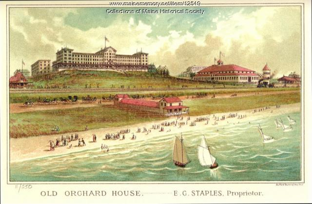 Old Orchard House, Old Orchard Beach, 1884