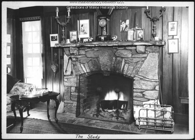 Study, Ethelbert Nevin estate, Blue Hill, 1937