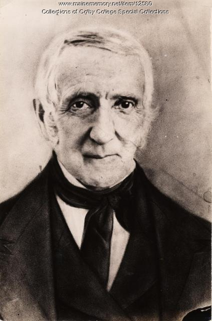 Jeremiah Chaplin, Waterville Literary and Theological Institution, ca. 1840