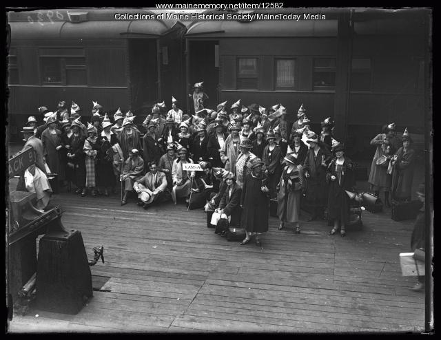 Business women's convention, Portland, 1925