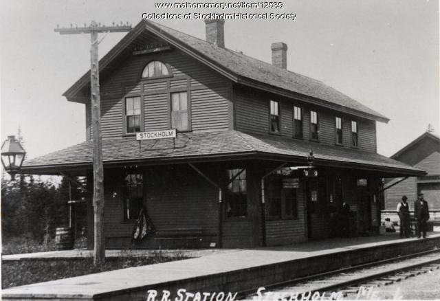 Railroad Station, Stockholm, ca. 1930