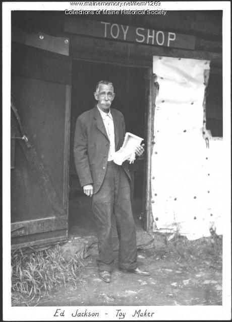 Ed Jackson, Lily Bay, 1934