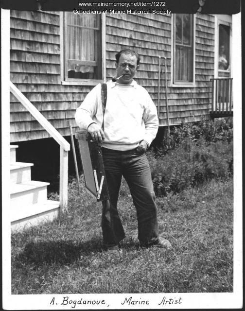 Abraham Bogdanove, Monhegan, 1935
