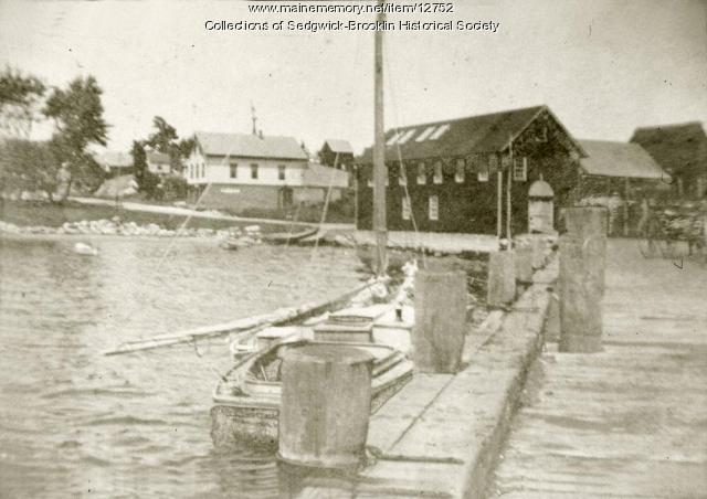 Sardine Cannery with House & Store, Brooklin