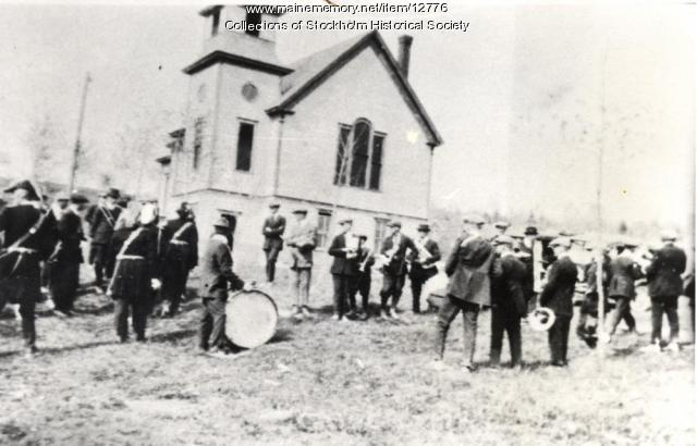 Stockholm Band at Lutheran Church, ca. 1900