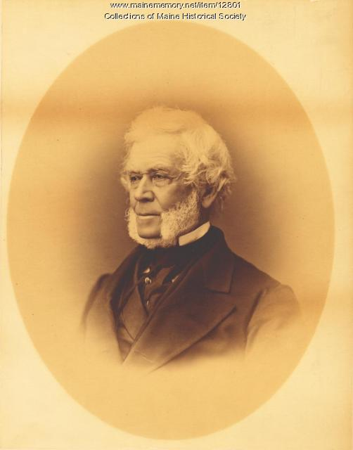 Nathan Cummings, Portland, ca. 1865