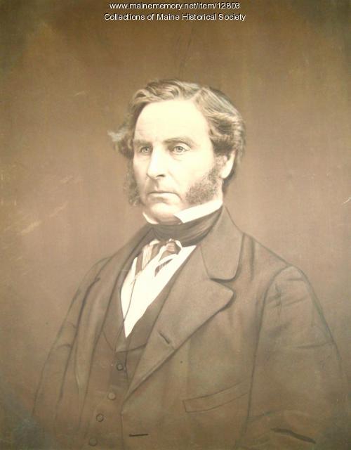 Phinehas Barnes, Portland, 1863