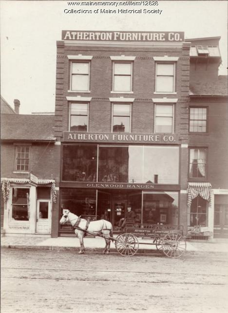 Atherton Furniture, Waterville, ca. 1905