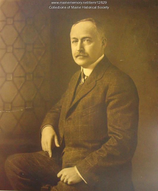 Cyrus Davis, Waterville, ca. 1914