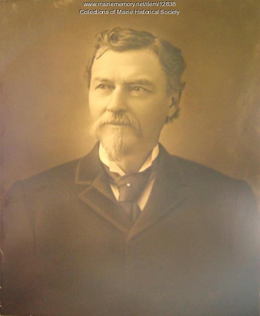 Nathan Cleaves, Portland, ca. 1890