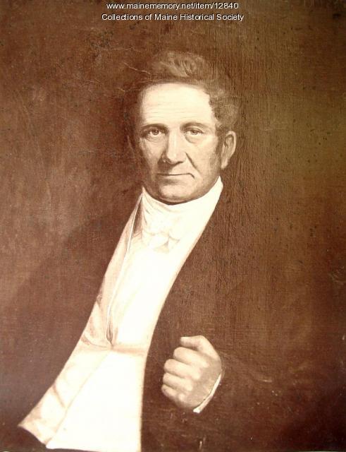 Dr. Stephen Cummings, Portland, ca. 1830