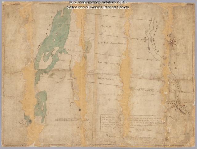 Kennebec River, Lots 20-23, 1769