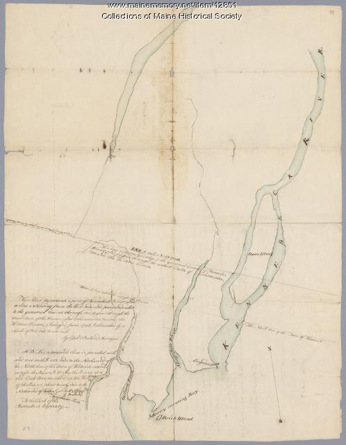 Kennebec River, June 1798