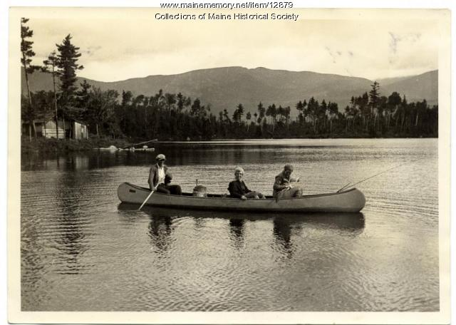 On Daicy Pond, 1931