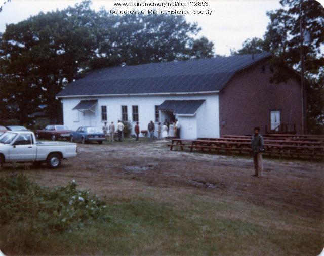Greenwood Garden Theater, Peaks Island, 1985