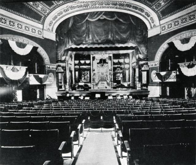 Jefferson Theater, Portland, ca. 1900