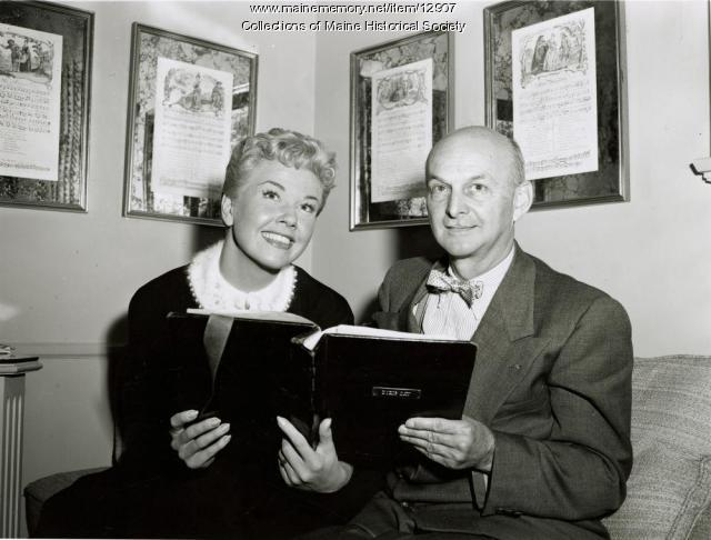 Howard Cail and Doris Day,  ca. 1950