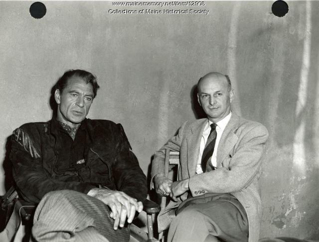 Howard Cail and Gary Cooper, ca. 1950
