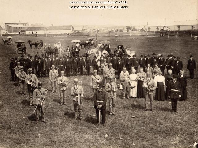 Grand Army of the Republic, Caribou, ca. 1900