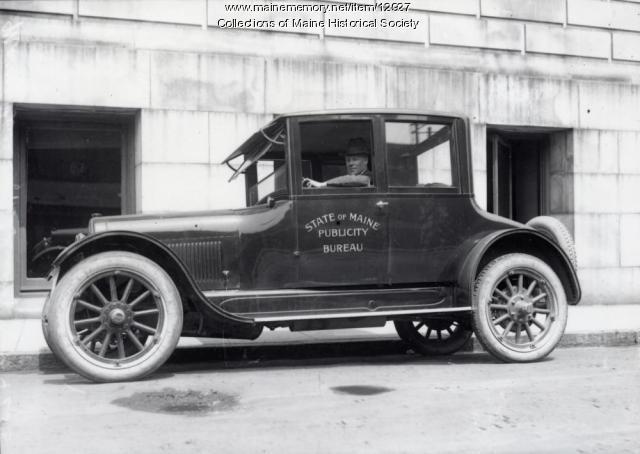 Publicity Bureau car, 1922
