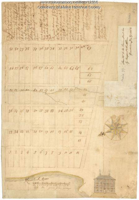 Plan for the house of worship, Pownalborough, 1760
