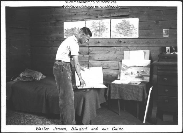 Walter Jensen, Ogunquit, 1937