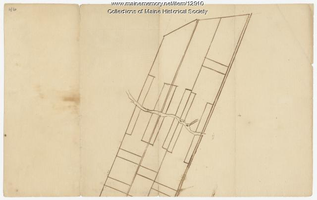 Map of lots G1 and G2 for James Pitts, near Clinton, 1769