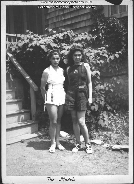 Models, Ogunquit School of Painting and Sculpture, 1937